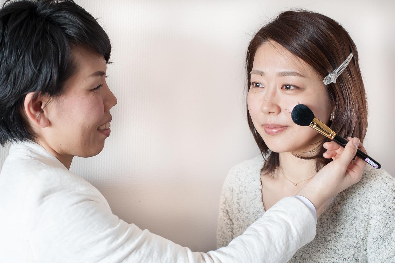 化粧ケア事業のイメージ